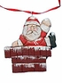 Folkart Santa Claus Ornament #14019