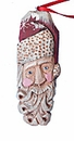 Santa Claus Face Ornament #15068