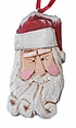 Santa Claus Face Ornament #16041