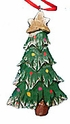 Wooden Christmas Tree Ornament #13183