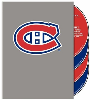 100 Years of the Montreal Canadiens DVD