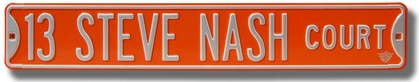 13 Steve Nash Court Street Sign