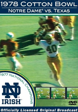 1978 Cotton Bowl DVD
