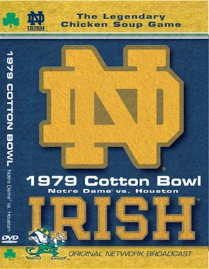 1979 Cotton Bowl ND vs. Houston DVD