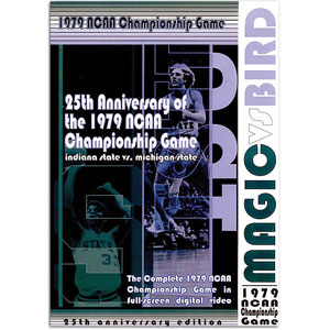 1979 IN State vs MI State - Magic vs Bird DVD