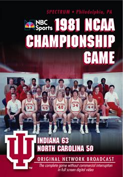 1981 NCAA Championship Game DVD