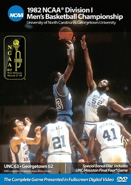 1982 NCAA Championship North Carolina vs. Georgetown DVD