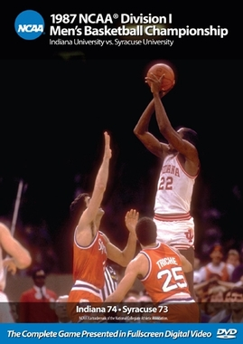 1987 NCAA Championship Indiana vs. Syracuse DVD