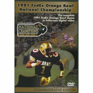 1991 FedEx Orange Bowl DVD