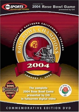 2004 Rose Bowl DVD