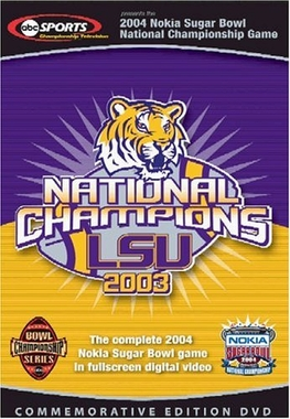 2004 Sugar Bowl DVD