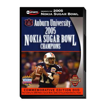 2005 Sugar Bowl DVD