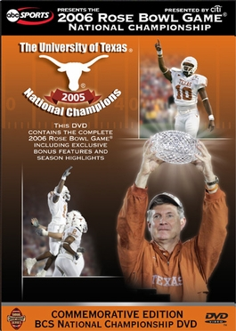 2006 Rose Bowl DVD