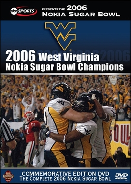 2006 Sugar Bowl: West Virginia vs Georgia DVD