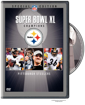 2006 Super Bowl XL: Pittsburgh Steelers DVD