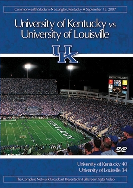 2007 Kentucky vs. Louisville DVD