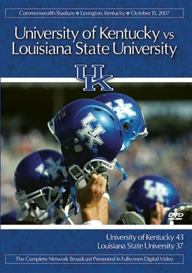2007 Kentucky vs. LSU DVD