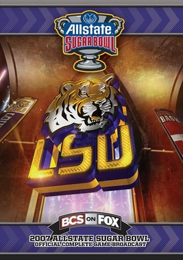 2007 Sugar Bowl DVD