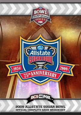 2009 Allstate Sugar Bowl DVD