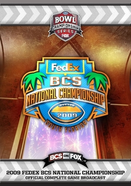 2009 FedEx BCS National Championship DVD