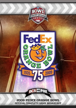 2009 FedEx Orange Bowl DVD