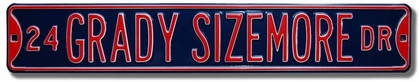 24 Grady Sizemore Dr Street Sign