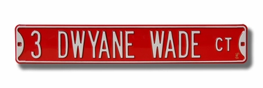 3 Dwyane Wade Ct Street Sign