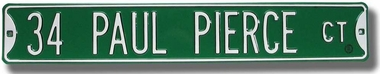 34 Paul Pierce Ct Street Sign