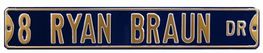 8 Ryan Braun Dr Street Sign