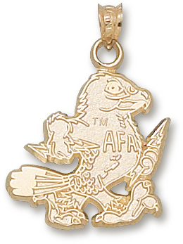Air Force 10K Gold Pendant