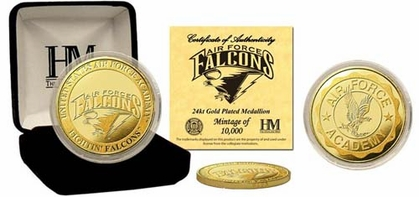 Air Force Academy Falcons United State Air Force Academy 24KT Gold Coin