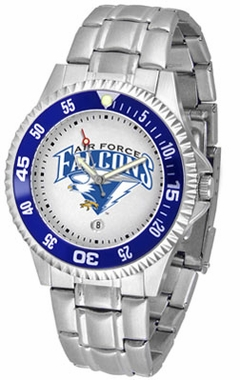 Air Force Competitor Men's Steel Band Watch