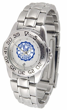 Air Force Sport Women's Steel Band Watch