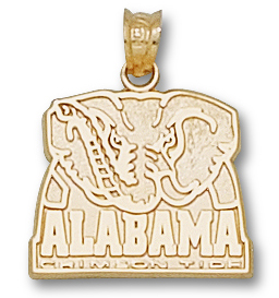 Alabama 14K Gold Pendant