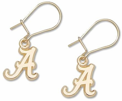 Alabama 14K Gold Post or Dangle Earrings