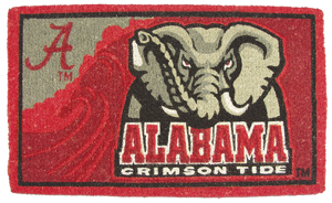 Alabama 18x30 Bleached Welcome Mat