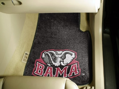 Alabama 2 Piece Car Mats