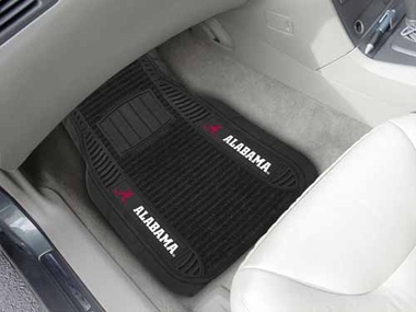 Alabama 2 Piece Heavy Duty DELUXE Vinyl Car Mats
