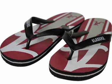 Alabama 2012 Unisex Big Logo Flip Flops - Large