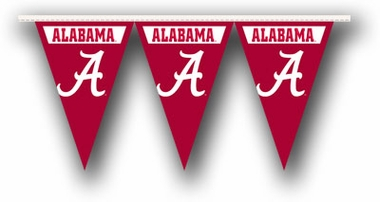 Alabama 25 Foot String of Party Pennants (P)