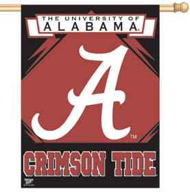"Alabama Crimson Tide 27""x37"" Banner"