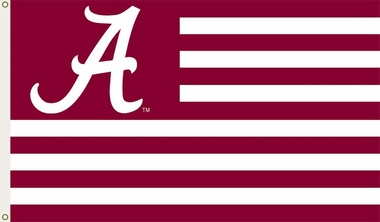 Alabama 3' x 5' Flag (Stripes) (F)