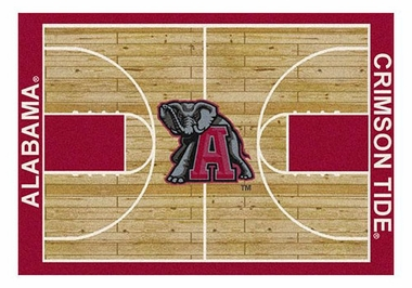 "Alabama 5'4"" x 7'8"" Premium Court Rug"