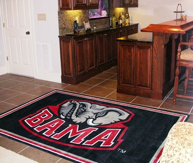 Alabama 5 Foot x 8 Foot Rug