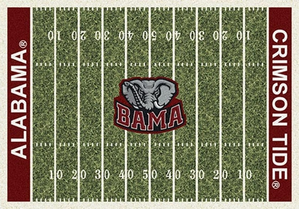 "Alabama 7'8"" x 10'9"" Premium Field Rug"