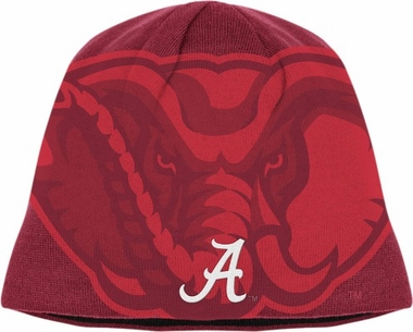 Alabama Adidas Reversible Big Logo Knit Hat