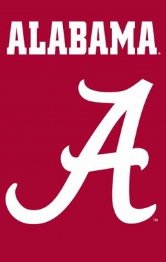 Alabama Applique Banner Flag