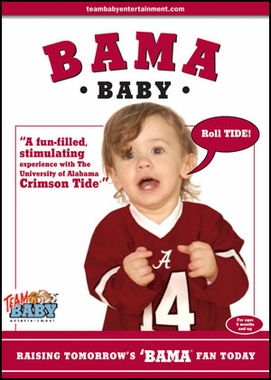 Alabama Baby Crimson Tide DVD