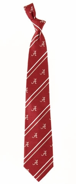 Alabama Cambridge Woven Silk Necktie