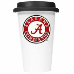 Alabama Ceramic Travel Cup (Black Lid)
